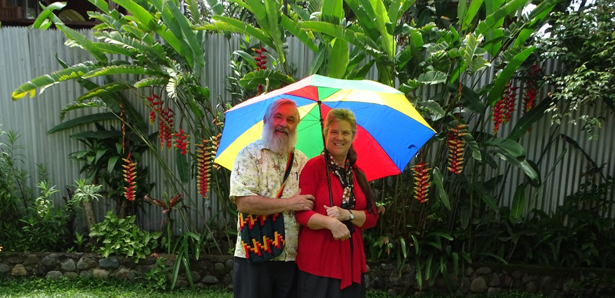David and Crystal Hersman, Goroka PNG March 2020